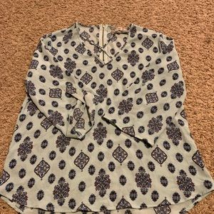 Cute Pink Rose patterned top
